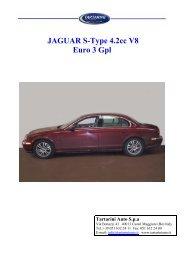 JAGUAR S-Type 4.2cc V8 Euro 3 Gpl