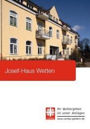 Josef-Haus Wetten
