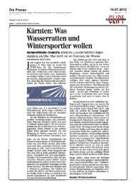 Die Presse 14.07.2012 - Engel & Voelkers