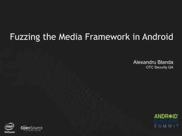 Fuzzing the Media Framework in Android