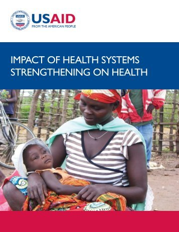 IMPACT OF HEALTH SYSTEMS STRENGTHENING ON HEALTH