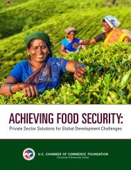 ACHIEVING FOOD SECURITY