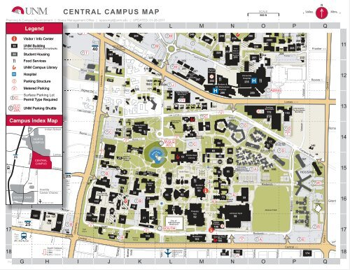 central campus map - Institutional Support Services ...