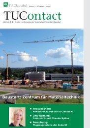 TUContact Gesamtausgabe - TU Clausthal