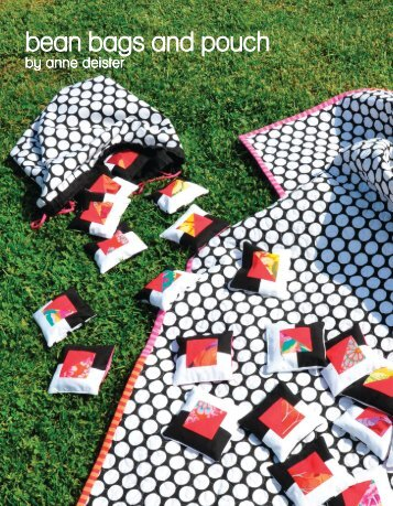 bean bags and pouch