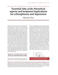 Essential fatty acids: theoretical aspects and treatment ... - Medref.se