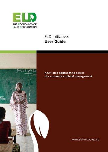 ELD Initiative User Guide
