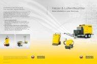 Heizer & Luftentfeuchter. - Wacker Neuson