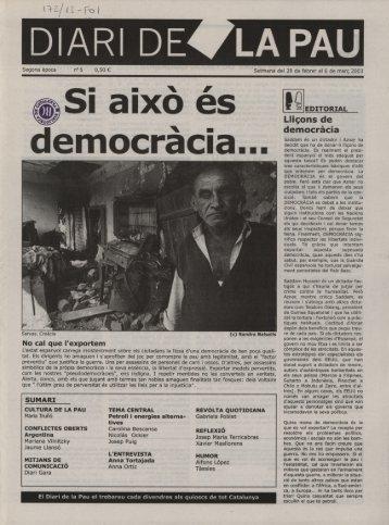 Diari Pau 5 - Associació de periodisme FORA DE QUADRE