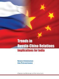 Trends in Russia-China Relations