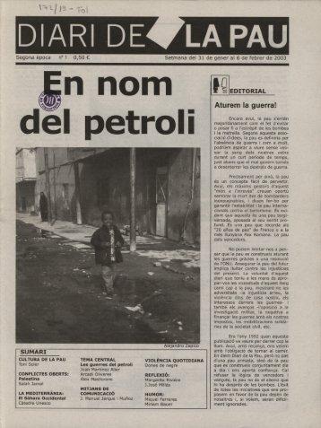 Diari Pau 1 - Associació de periodisme FORA DE QUADRE