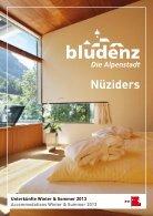 Unterkunftsverzeichnis Bludenz/Nüziders 2013 - Page 2