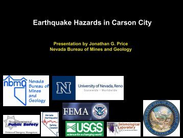 Earthquake Hazards in Carson City - Nevada Bureau of Mines and ...