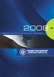 Ročenka 2008 - Výskumný Ústav zváračský