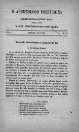 0 AROHEOLOGO PORTUGUES - Bibliotecas da Direção-Geral do ...