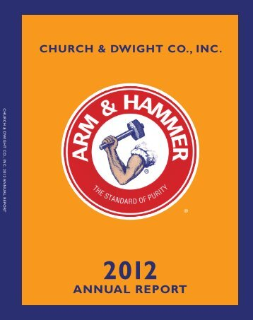 2012 Annual Report - Church & Dwight