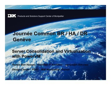 Server Consolidation and Virtualization with PowerVM