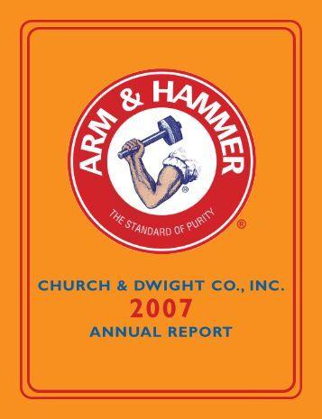 2007 Annual Report - Church & Dwight