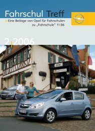 Fahrschul Treff - Opel Special Vehicles