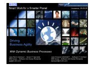 Driving Business Agility