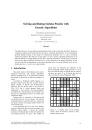 Solving and Rating Sudoku Puzzles with Genetic Algorithms
