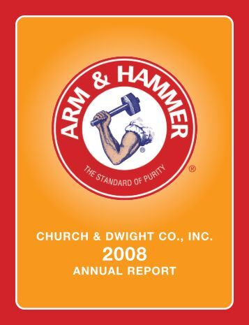 2008 Annual Report - Church & Dwight