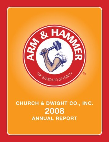 2008 Annual Report - Church & Dwight