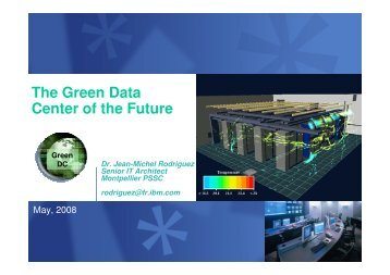 The Green Data Center of the Future