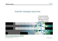 PowerVM Virtualization without limits