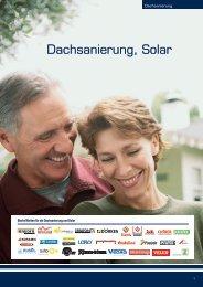 Dachsanierung, Solar