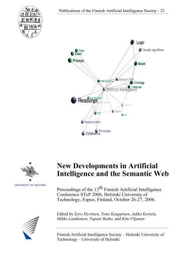 New Developments in Artificial Intelligence and the Semantic Web