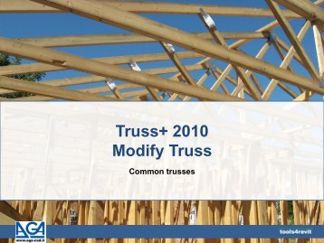 Truss+ 2010 Modify Truss