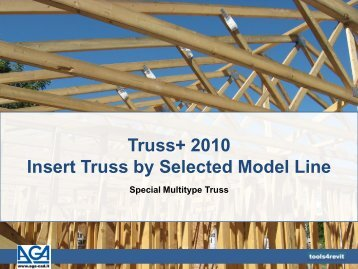 Truss+ 2010 Insert Truss by Selected Model Line