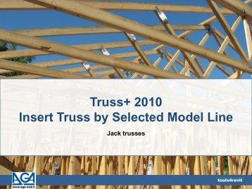 Truss+ 2010 Insert Truss by Selected Model Line