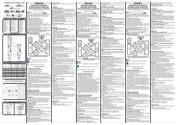 ADL-1F / ADL-4F - Acasa   Intec Automatizari