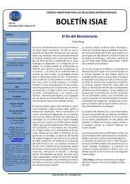 Nº 50, diciembre 2010 - Consejo Argentino para las Relaciones ...
