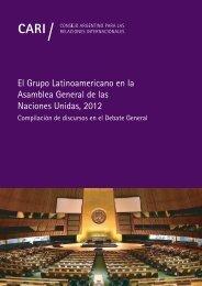 El Grupo Latinoamericano en la Asamblea General de las Naciones Unidas 2012
