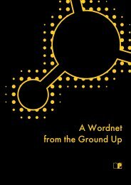 A Wordnet from the Ground Up