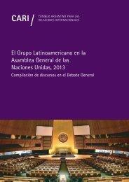 EL GRUPO LATINOAMERICANO EN LA ASAMBLEA GENERAL DE LAS NACIONES UNIDAS