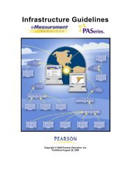 Infrastructure Guidelines