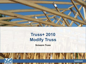 Truss+ 2010 Modify Truss - Tools4Revit