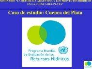 Caso de estudio Cuenca del Plata