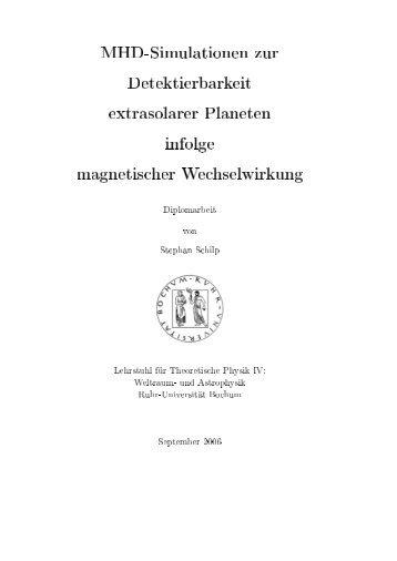 full text - Institut für Theoretische Weltraum- und Astrophysik der ...