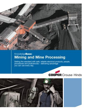 Mining and Mine Processing