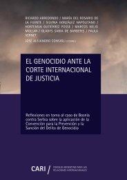 EL GENOCIDIO ANTE LA CORTE INTERNACIONAL DE JUSTICIA