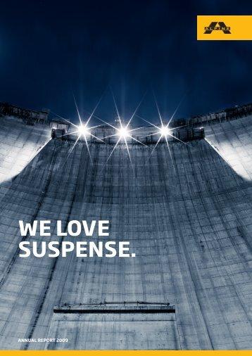 We love suspense.