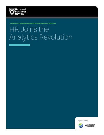 HR Joins the Analytics Revolution