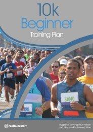 10K Beginner Training Plan - RNLI