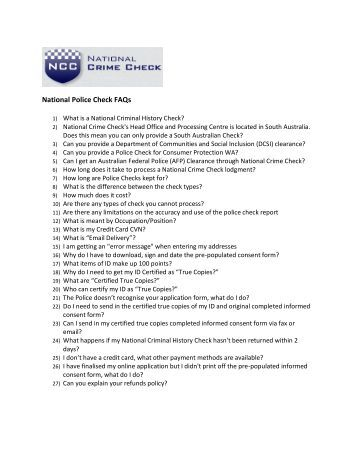 vic police record check application form