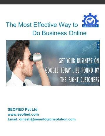 The Most Effective Way to Do Business Online
